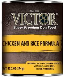 Victor Dog Chicken and Rice Formula Pâté