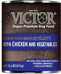 Victor Dog GF Cuts in Gravy with Chicken and Vegetables Stew