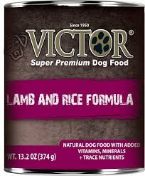 Victor Dog Lamb and Rice Formula Pâté