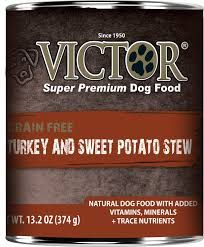 Victor Dog GF Turkey and Sweet Potato Stew