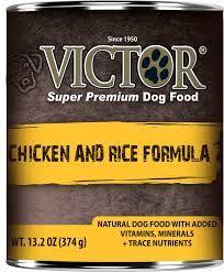 Victor Dog Chicken and Rice Formula Pâté