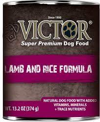 Victor Dog Lamb and Rice Formula Pâté