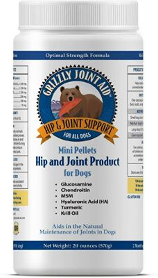 Grizzly Salmon Oil dog food supplement