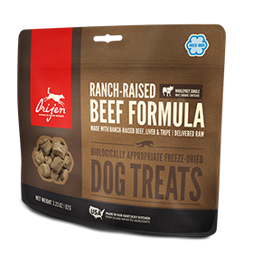 Orijen Ranch-Raised Beef Dog Treat 3.25oz