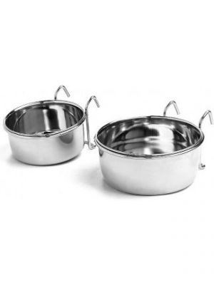 Stainless Steel Coop Cup Wire Hanger Boxed