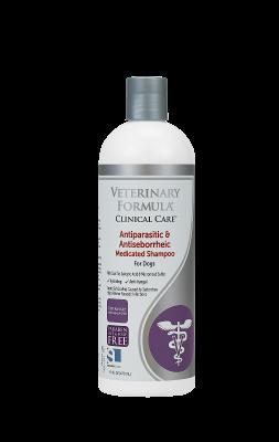 SynergyLabs VFCC Antiparasitic & Antiseborrheic Shampoo
